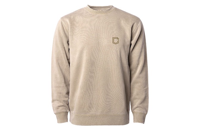 COMMENCAL SHIELD CREWNECK SANDSTONE