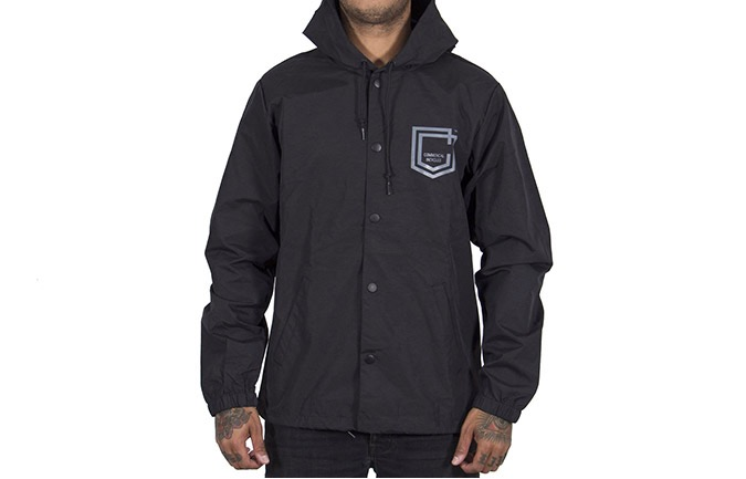 COMMENCAL COACH SHIELD WINDBREAKER BLACK