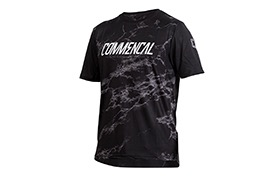 COMMENCAL SHORT SLEEVE JERSEY BLACK