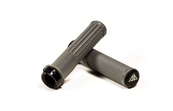 RIDE ALPHA DOWNHILL GRIPS COOL GREY