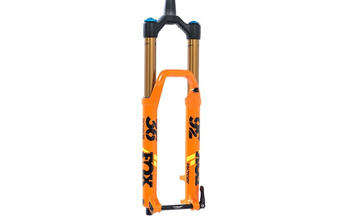 "FOX 36 FLOAT FACTORY KASHIMA GRIP 2 180MM 27.5"" 2020 ORANGE"