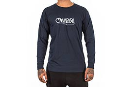 TEE-SHIRT LONG SLEEVE BUBBLE NAVY 2018