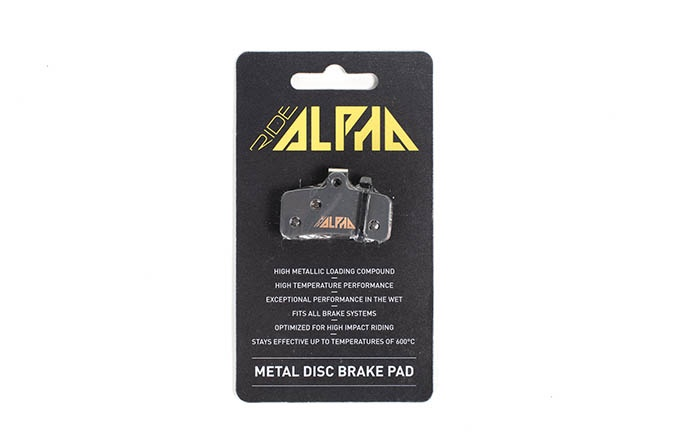 RIDE ALPHA SINTERED BRAKE PADS FOR SHIMANO SAINT/ZEE