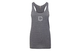 COMMENCAL GIRL SHIELD TANK TOP ASH HEATHER 2019