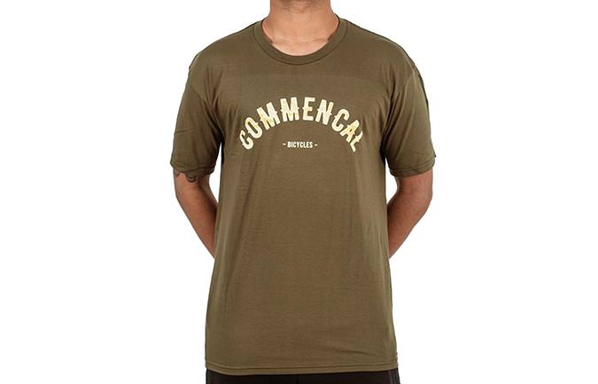 TEE-SHIRT COLLEGE MILITARY GREEN 2018