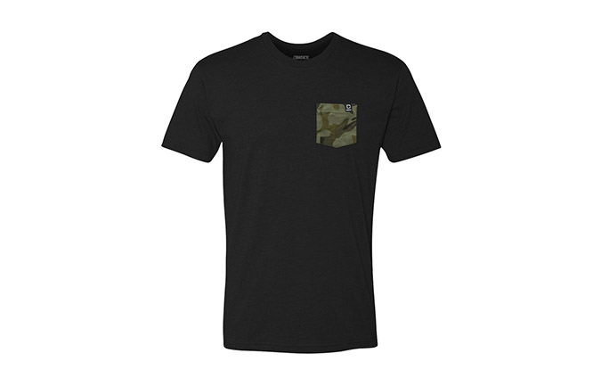 BASIC T-SHIRT BLACK/CAMO  2018