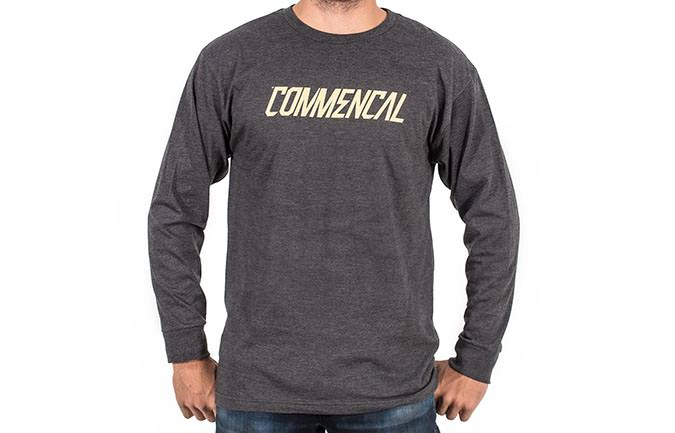 TEE-SHIRT LONG SLEEVE CORPORATE CHARCOAL
