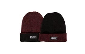 COMMENCAL REVERSIBLE BEANIE BLACK/BORDEAUX 2019