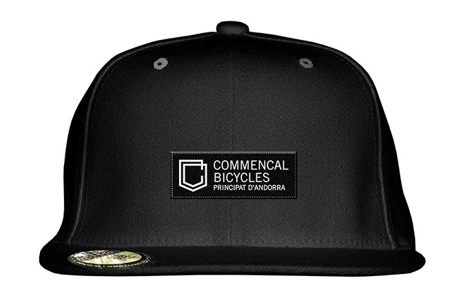 COMMENCAL SHIELD FLAT CAP BLACK