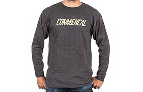 TEE-SHIRT LONG SLEEVE CORPORATE CHARCOAL 2018