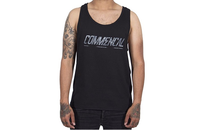 COMMENCAL CORPORATE TANK TOP BLACK 2019