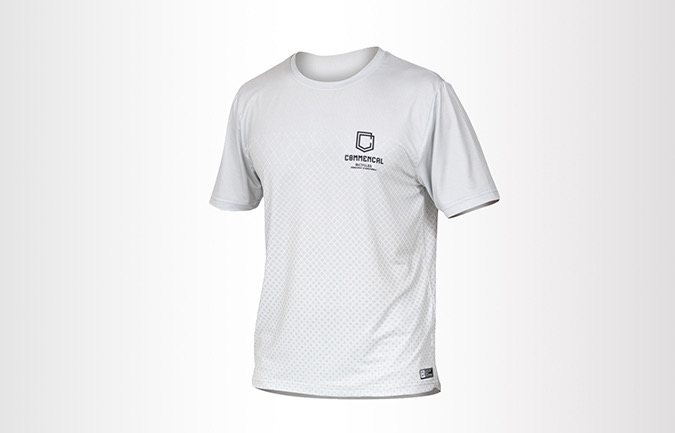 COMMENCAL SHORT SLEEVE JERSEY LIGHT GREY