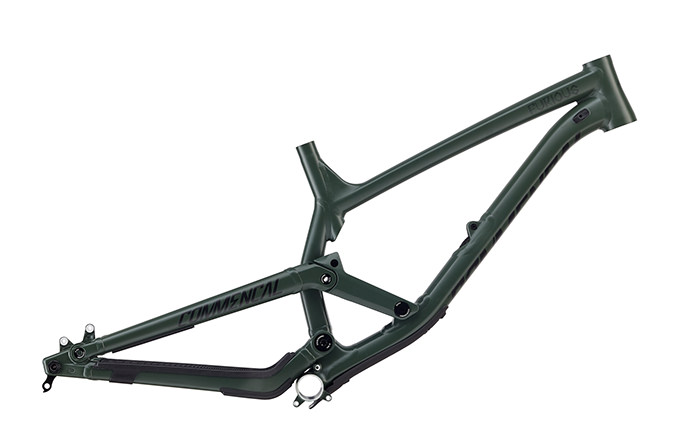 FRAME FURIOUS 650B GREEN 2018