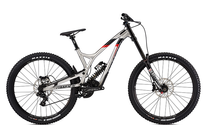 SUPREME DH V4.2 RACE ROCKSHOX 650B BRUSHED RED 2018