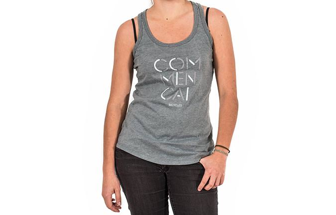 TANK TOP 3 LINES GREY GIRLY 2018