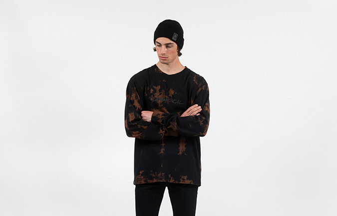 COMMENCAL MEN TYE DYE LONG SLEEVE T-SHIRT