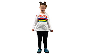 KIDS LONG SLEEVE POMPON WORLD CHAMPION REPLICA JERSEY 2019