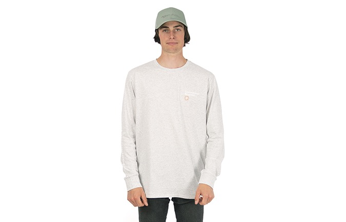 COMMENCAL LONG SLEEVE T-SHIRT LIGHT GREY