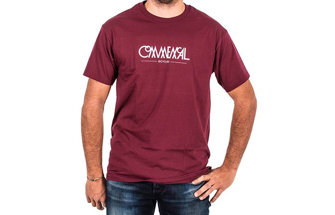 TEE-SHIRT BUBBLE MAROON 2018