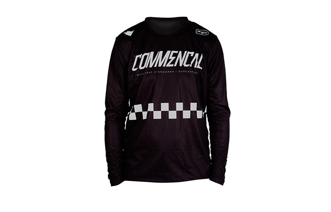 LONG SLEEVE FORBIKE/COMMENCAL JERSEY BLACK 2019