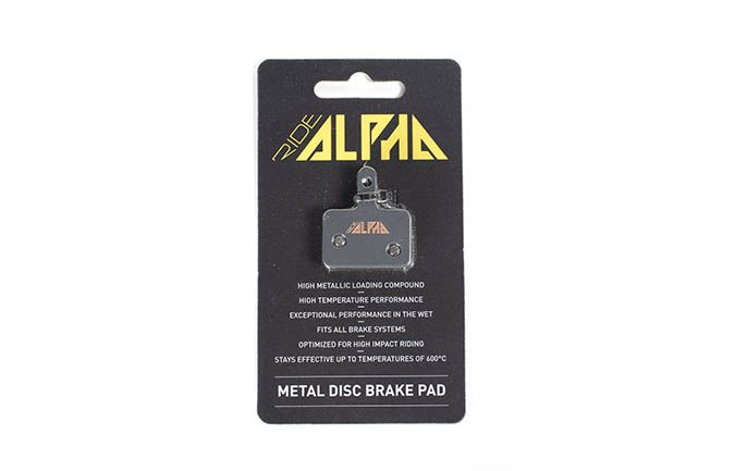 RIDE ALPHA SINTERED BRAKE PADS FOR TEKTRO HDC330/HDC300/AURIGA